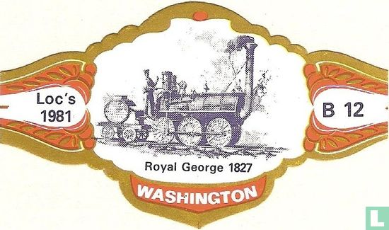 Washington - Royal George war 1827