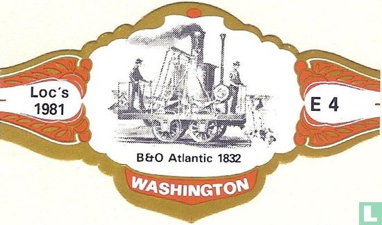 Washington - B et O Atlantic 1832