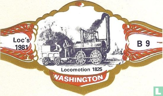 Washington - 1825 Fortbewegung
