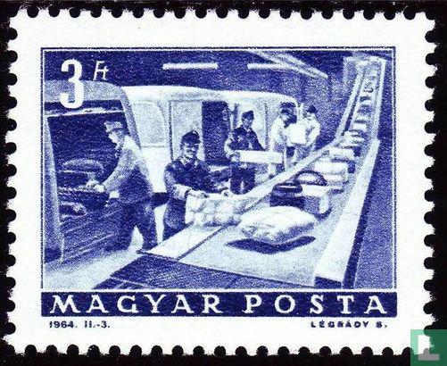 Hongarije - Posterijen