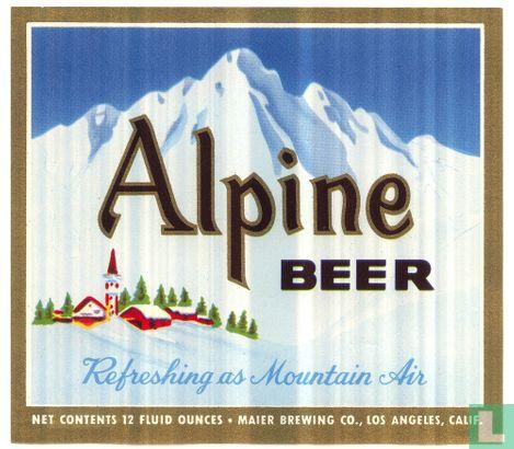 Maier brewing, Los Angeles - Alpine Beer
