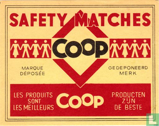 Coop Safety matches