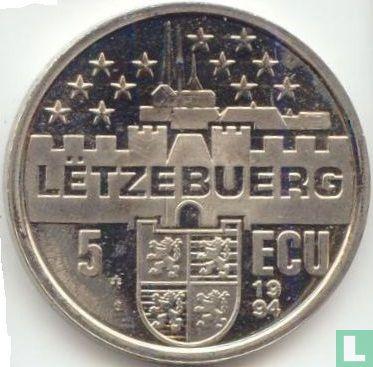 Luxemburg 5 ecu 1994  - Afbeelding 1