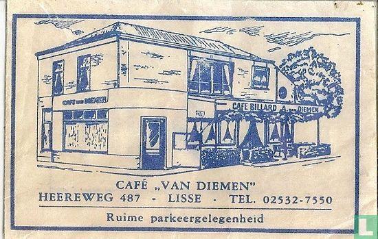 """Sachet - Café """"Van Diemen"""""""