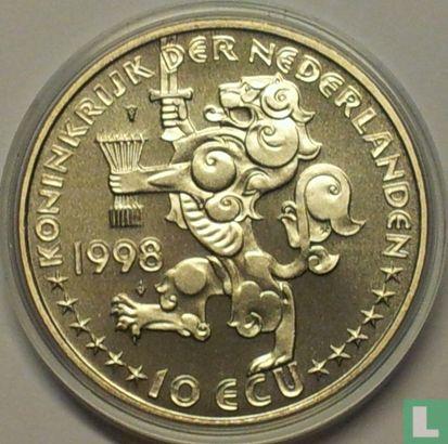 "Nederland 10 ecu 1998 ""Johan Rudolf Thorbecke"" - Afbeelding 1"