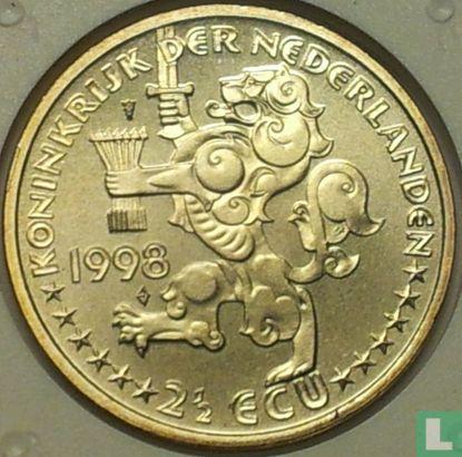 "Nederland 2½ ecu 1998 ""Johan Rudolf Thorbecke"" - Afbeelding 1"