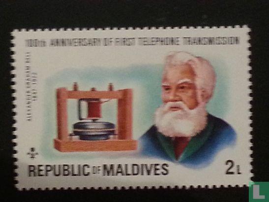 Maldiven - Telefoon 100 jaar