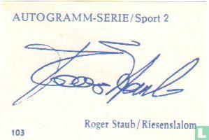 Roger Staub, Riesenslalom