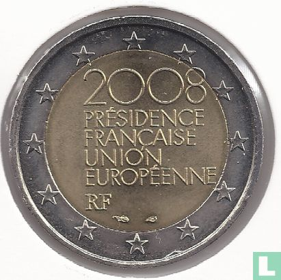 """France - France 2 euro 2008 """"French Presidency of the EU"""""""