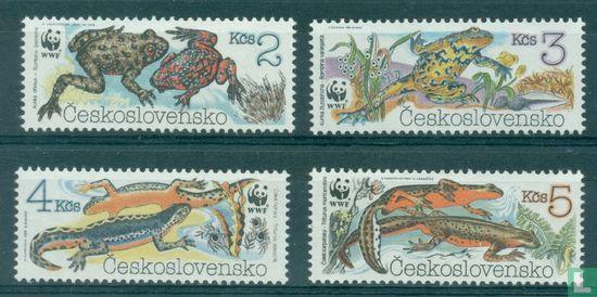 Czechoslovakia - WWF-Amphibians