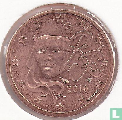 France - France 1 cent 2010