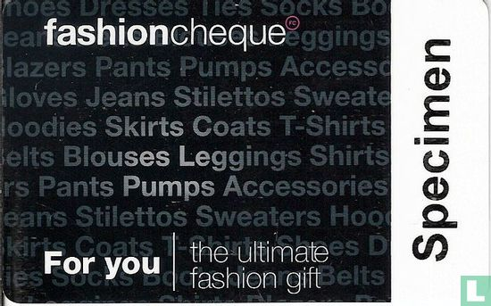 Fashioncheque - Bild 1