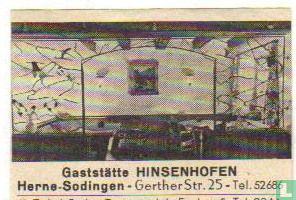 Gaststätte Hinsenhofen