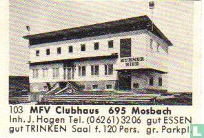MFV Clubhaus 695 Mosbach - J.Hogen