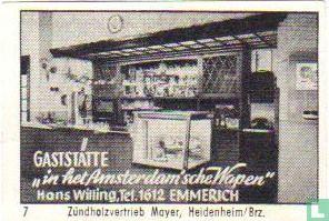 """Gaststätte """"in het Amsterdam'sche Wapen"""" - Hans Willing"""