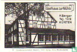 Gasthaus zur Mühle - H.Berger