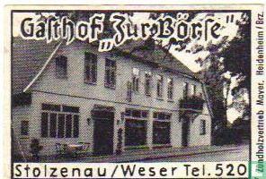 """Gasthof """"Zur Börse"""""""