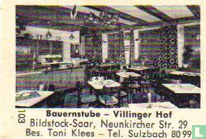 Bauernstube Villinger Hof - Toni Klees