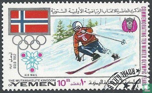 Jemen - Königreich - Olympischen Winterspielen