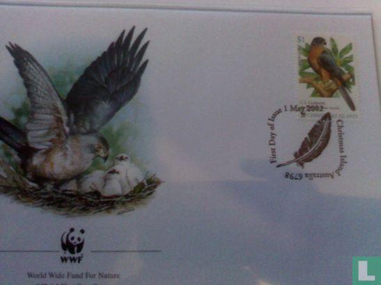 Christmaseiland [CXR] - wwf vogels Christmas Island