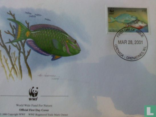 Grenada - WWF - Papegaaivissen