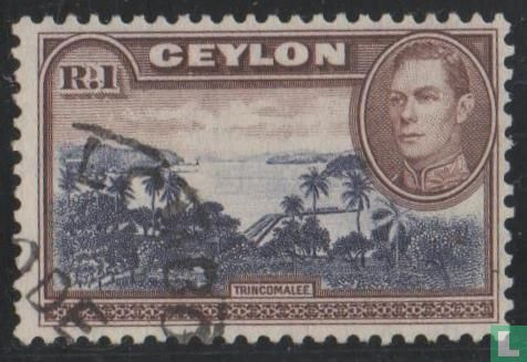 Ceylon - Haven van Trincomalee [wmî]