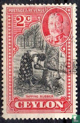 Ceylon - Rubbertapper