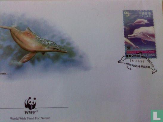 Hongkong - WWF - Chinese witte dolfijn