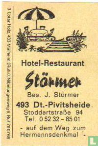 Hotel Restaurant Störmer - J.Störmer
