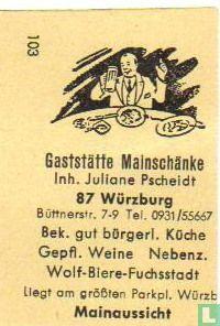 Gaststätte Mainschänke - Juliane Pscheidt