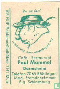 Café Restaurant Paul Mammel