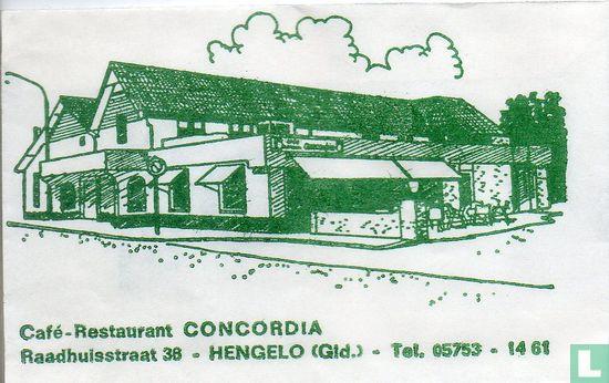 Zakje - Café-Restaurant Concordia