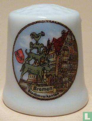 Bremen (D) - De Bremer Stadtmusikanten.