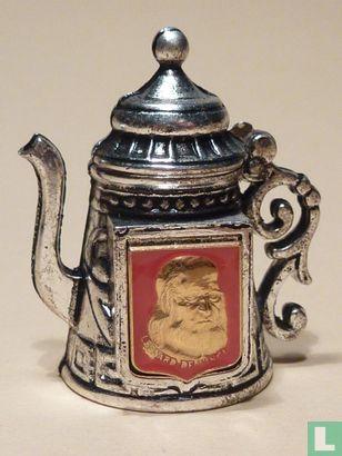 Koffiepot met afbeelding - Image 1
