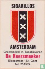 Sigarillos Amsterdam - De Keersmaeker