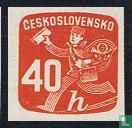 Czechoslovakia - Postman