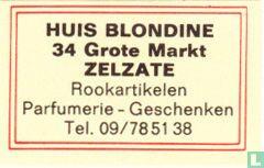 Huis Blondine - Rookartikelen