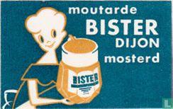 Moutarde Bister Dijon mosterd