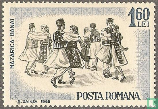 Roemenië [ROU] - Volksdansen