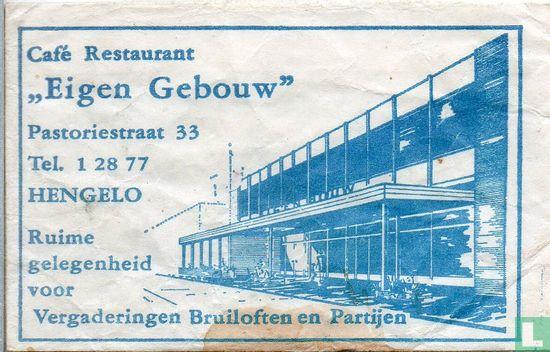 """Zakje - Café Restaurant """"Eigen Gebouw"""""""