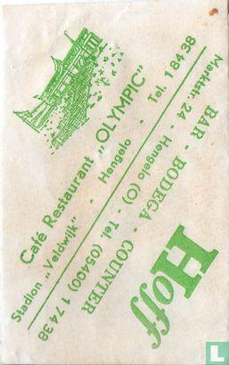 "Zakje - Café Restaurant ""Olympic"""