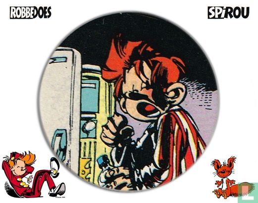 Robbedoes Caps 57 - Afbeelding 1