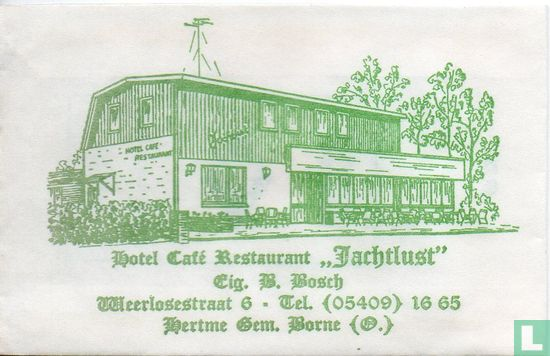 "Zakje - Hotel Café Restaurant ""Jachtlust"""