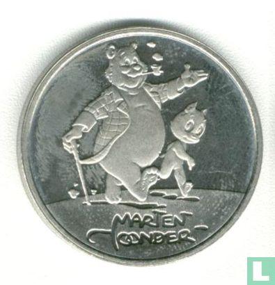 """Nederland 1 ecu 1996 """"Marten Toonder"""" zilver - Afbeelding 1"""