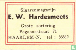 Sigarenmagazijn E.W. Hardesmeets