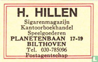 H. Hillen sigarenmagazijn