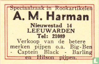 Rookartikelen A.M. Harman