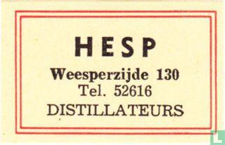 Hesp - distillateurs