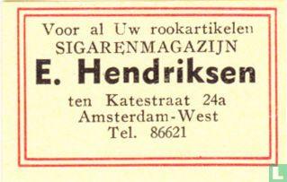 Sigarenmagazijn E. Hendriksen