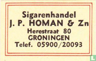 Sigarenhandel JP. Homan & Zn